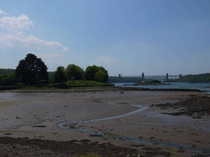 Britannia Bridge & Church Island